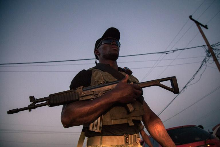 The Cameroon government has been battling armed separatists in English-speaking regions since October 2017 (AFP Photo/ALEXIS HUGUET)