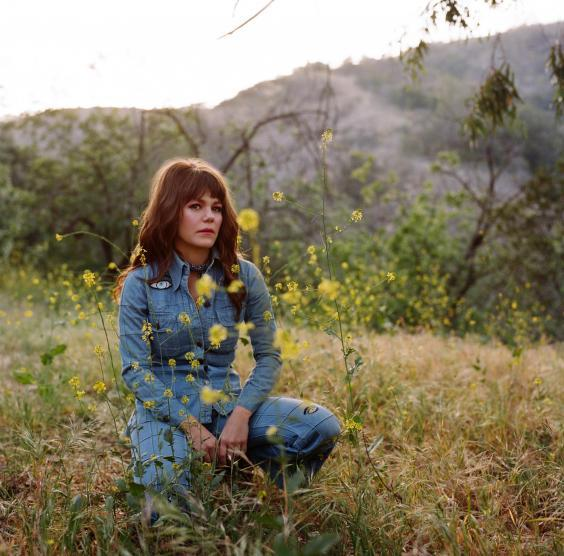 Jenny Lewis: 'I always felt like a lone wolf in the world. Just buried in my notebook' (Press)