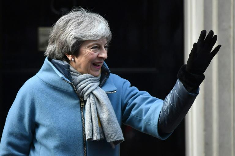 With less than two weeks to go to Brexit on March 29, Britain's Prime Minister Theresa May was struggling to turn the trickle of Brexiteers backing her deal into a flood