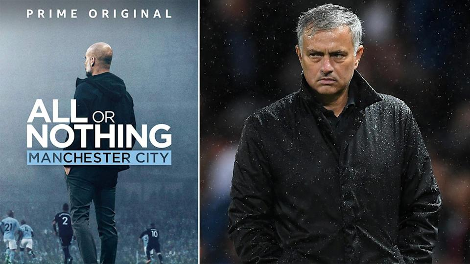 Jose Mourinho might not be happy when he sees the new Manchester City documentary.
