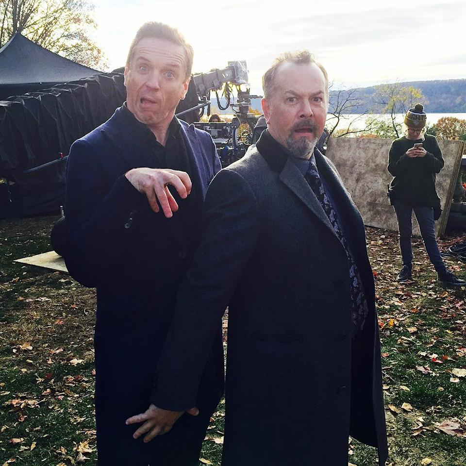 """<p>Damian and David might play serious guys on #billions but this is who they really are! — <a href=""""https://www.instagram.com/therealmalinakerman/"""" rel=""""nofollow noopener"""" target=""""_blank"""" data-ylk=""""slk:@therealmalinakerman"""" class=""""link rapid-noclick-resp"""">@therealmalinakerman</a></p><p><i>(Credit: Instagram)</i><br></p>"""