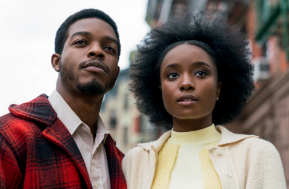 """<p>Clementine, known as """"Tish,"""" is romantically involved with Alonzo, known as """"Fonny."""" The two find a reasonably priced place to live in New York City. When Fonny is arrested and accused of raping a woman, Tish is determined to clear his name. Fonny is wrongly charged, since he was nowhere near the place of the crime. Tish stands by his side and visits him in jail to tell him that she is pregnant. Their attempts to clear Fonny's name don't work out, and he accepts a plea deal. Tish continues to wait for Fonny's release and brings their child to prison to visit him.</p>"""