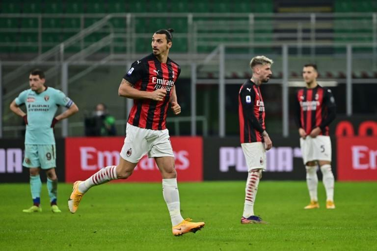 Zlatan Ibrahimovic made his return from injury as AC Milan beat Torino to extend their lead at the top of Serie A