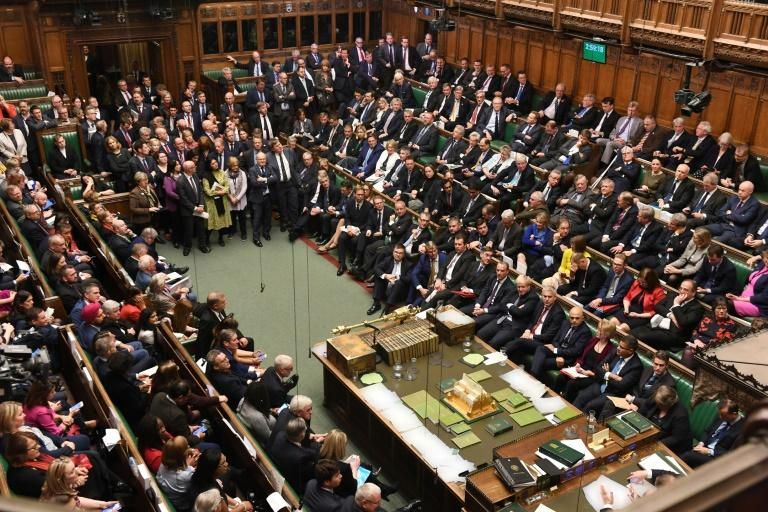 Lawmakers pushed through an amendment on Saturday obliging a furious Johnson to ask for another Brexit extension