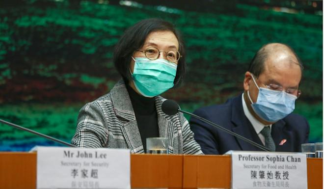 Sophia Chan says there will be random check on those under quarantine. Photo: Jonathan Wong