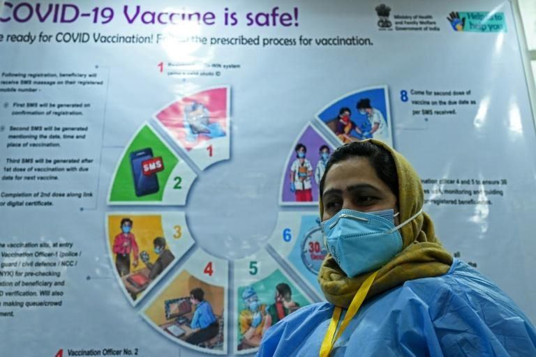 India's huge coronavirus vaccination drive is behind schedule, hampered by technical glitches and safety fears