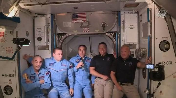 SpaceX Crew Dragon with two NASA astronauts docks with International Space Station