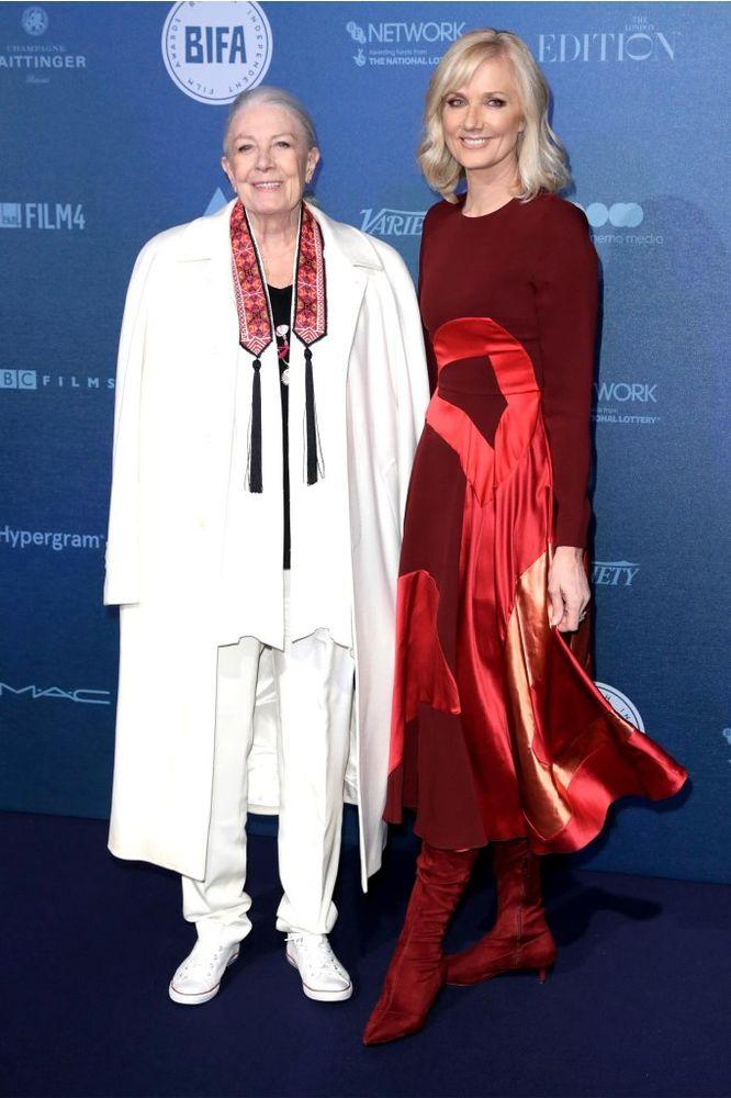 Vanessa Redgrave and Joely Richardson in 2017.