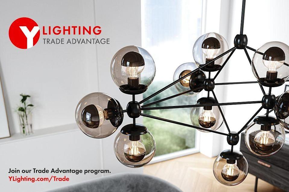 """<p>We are honored to have the support of longstanding partners including Caesarstone, Fiskars, Pottery Barn, Resource Furniture, S.Harris, Stark, Thermador and YLighting</p><p>Visit: <a href=""""https://www.ylighting.com/blog/obsidian-project/"""" rel=""""nofollow noopener"""" target=""""_blank"""" data-ylk=""""slk:ylighting.com/blog/obsidian-project"""" class=""""link rapid-noclick-resp"""">ylighting.com/blog/obsidian-project</a></p><p>Join the YLighting Trade Advantage Program at: <a href=""""https://www.ylighting.com/on/demandware.store/Sites-YLighting-Site/default/Home-Show"""" rel=""""nofollow noopener"""" target=""""_blank"""" data-ylk=""""slk:ylighting.com"""" class=""""link rapid-noclick-resp"""">ylighting.com </a></p>"""