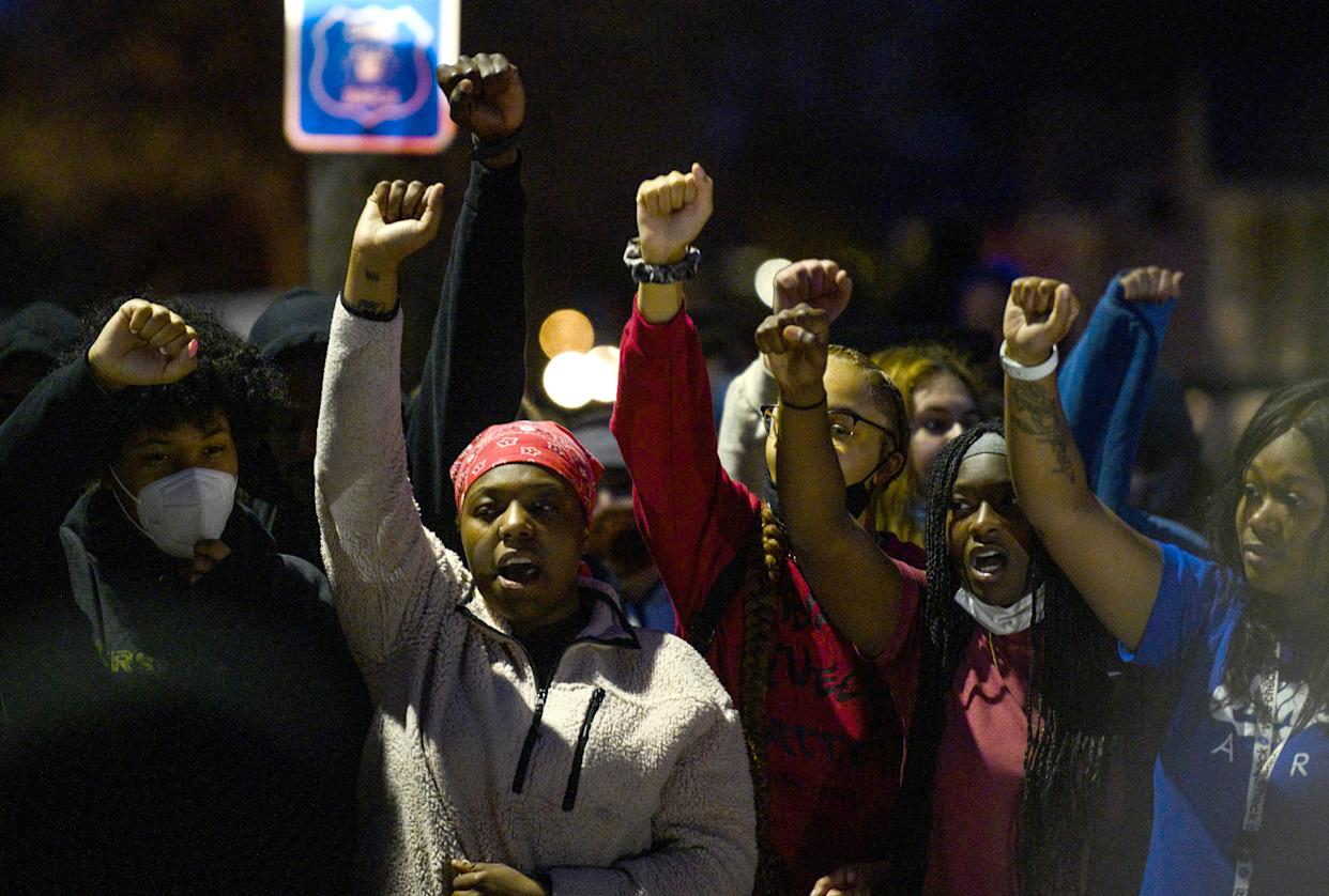Police fatally shoot Black man in traffic stop near Minneapolis, protests erupt