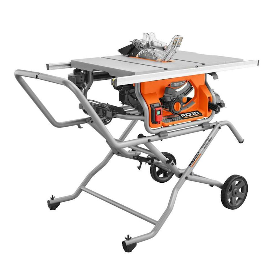 "<p><strong>RIDGID</strong></p><p>homedepot.com</p><p><strong>$349.00</strong></p><p><a href=""https://go.redirectingat.com?id=74968X1596630&url=https%3A%2F%2Fwww.homedepot.com%2Fp%2FRIDGID-10-in-Pro-Jobsite-Table-Saw-with-Stand-R4514%2F309415135&sref=https%3A%2F%2Fwww.redbookmag.com%2Flife%2Fg34807098%2Fbest-black-friday-deals-tools%2F"" rel=""nofollow noopener"" target=""_blank"" data-ylk=""slk:Shop Now"" class=""link rapid-noclick-resp"">Shop Now</a></p><p>For this money, you won't find a better saw, let alone a saw on a halfway decent folding stand. This one's full-size, with a 10-inch blade powered by a 15-amp motor, capable of making a 3.5-inch-deep cut and with a 30-inch rip capacity to the right of the blade. When you're not using it, fold it up and roll it out of the way.</p>"