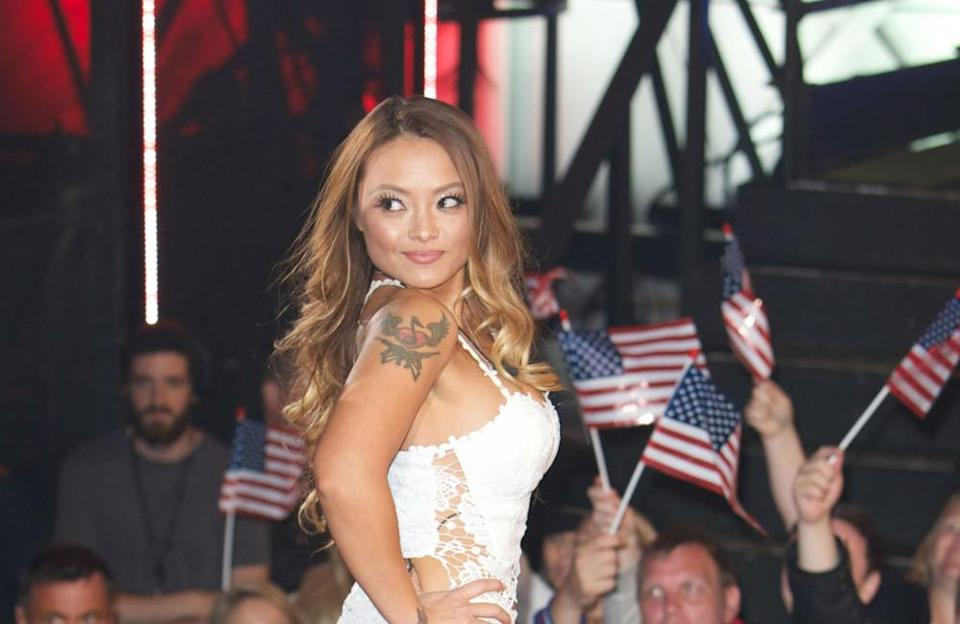 """In 2010, a video of the reality TV star enjoying herself with adult actresses Kristina Rose and Charlie Laine was leaked. Tila tried to buy the clip to keep it off the web. However, in 2011, Vivid Entertainment released the full video. In December 2013, another tape was announced, this time of Tequila and """"an ex-boyfriend."""