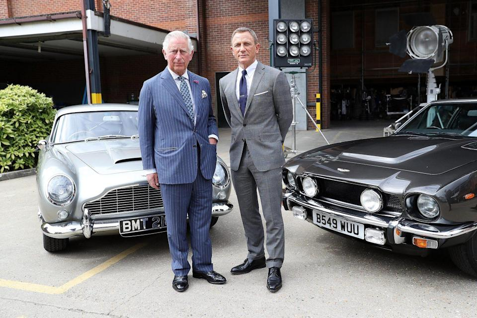<p>Prince Charles and Craig met again in 2019 when the royal toured the set of the 25th James Bond film at Pinewood Studios. The royal, who is a patron of the British Film Institute, was there to celebrate the contribution the franchise has made to the British film industry. </p>