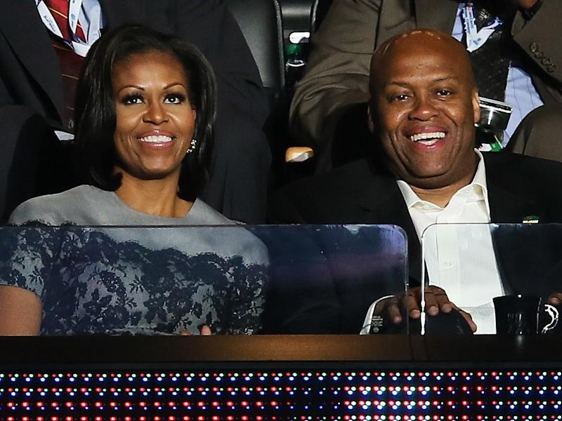 Michelle Obama shares touching text she received from her brother about her memoir