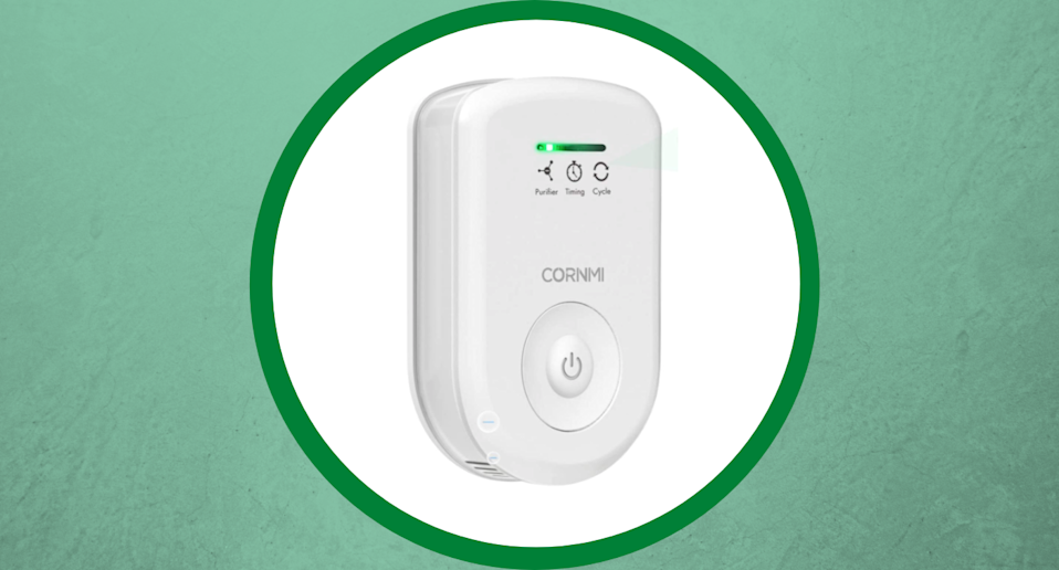 The Cornmi Air Purifier with Deodorizing Function is an affordable take for clean indoor air.