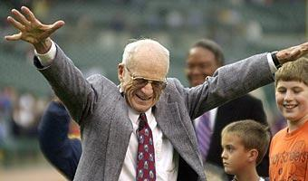 Hall of Famer Ernie Harwell spent 42 of his 55 years in broadcasting with the Tigers and was beloved by fans of all ages