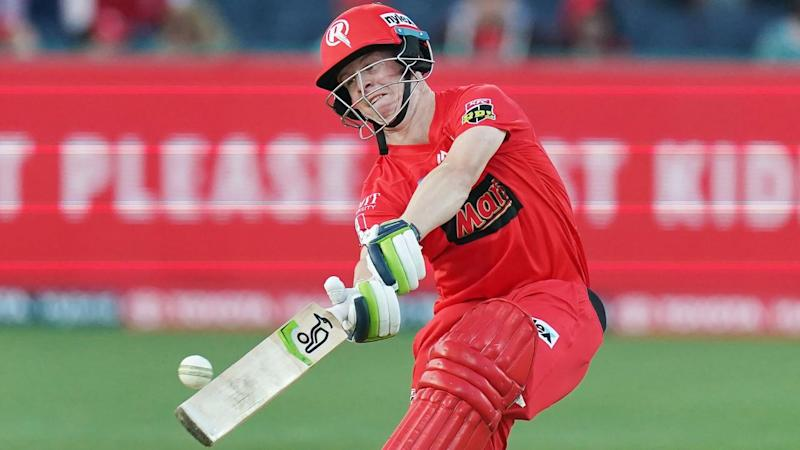 Sam Harper smashed 73 runs off 46 balls for the Renegades in their BBL match against Perth