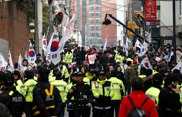 South Korea Park Geun-hye impeachment