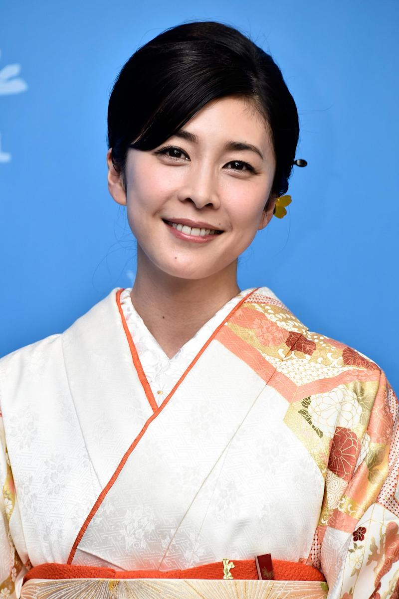 Actress Yuko Takeuchi (file photo) (Getty Images)
