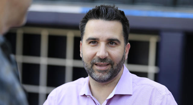 Alex Anthopoulos doesn't think playing in Toronto is such a big deal for players. (Photo by David John Griffin/Icon Sportswire via Getty Images)
