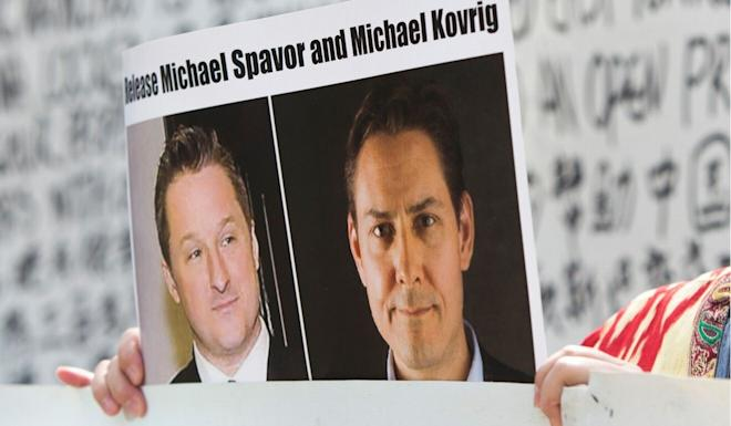 Michael Spavor (left) and Michael Kovrig have been charged with spying. Photo: AFP