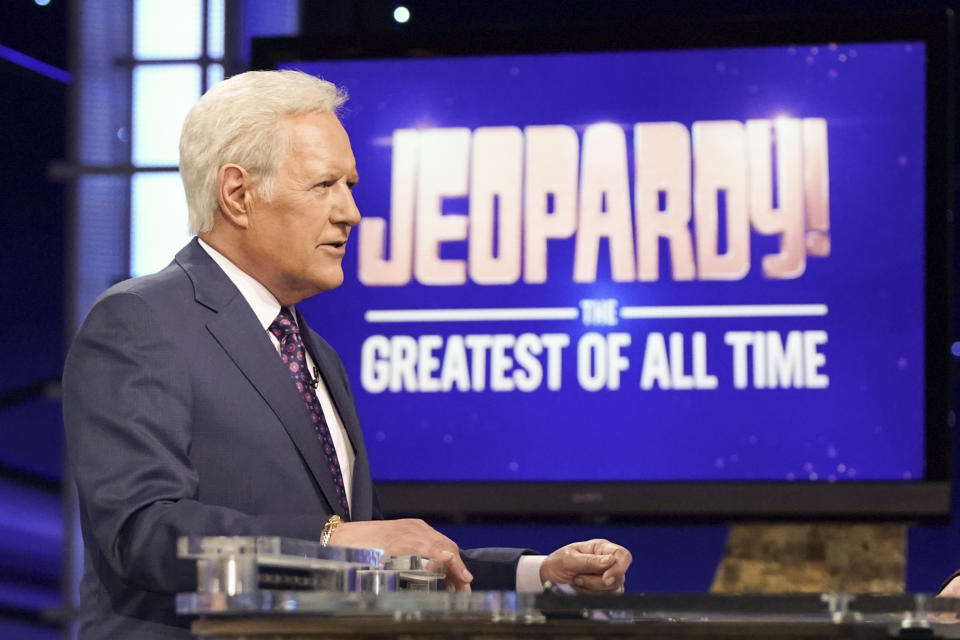 "Alex Trebek in der Sondersendung ""JEOPARDY! THE GREATEST OF ALL TIME"" (Bild: Eric McCandless/ABC via Getty Images)"