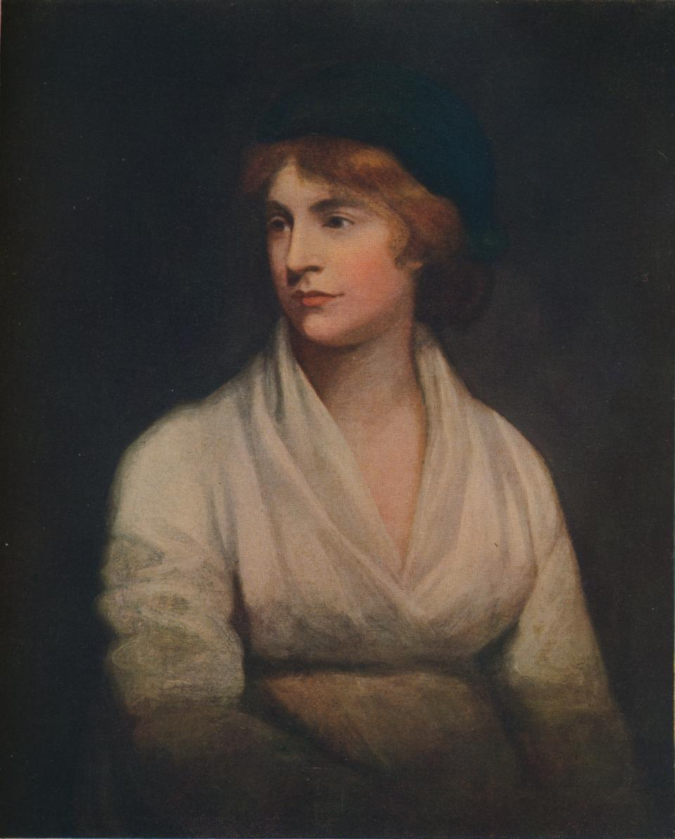 Mary Wollstonecraft, 18th century English teacher, writer and feminist. (Photo: The Print Collector/Getty Images)