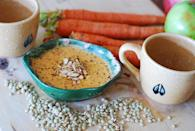 "Photo: Julia's Album<br> Spiced Carrot and Lentil Soup<br><br> Julia made this carrot and lentil soup for the first time at Christmas two years ago and it was an immediate hit with her family. Will all of the heavy party food and sweet treats, a wholesome, nourishing soup like this is a sight for sore eyes. <br> <b>Recipe: <a href=""http://juliasalbum.com/2012/12/easy-creamy-spicy-carrot-lentil-soup-recipe/"" rel=""nofollow noopener"" target=""_blank"" data-ylk=""slk:Spiced Carrot and Lentil Soup"" class=""link rapid-noclick-resp"">Spiced Carrot and Lentil Soup</a></b>"