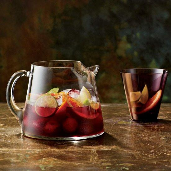 """<p>Although Spaniards and Portuguese have been drinking sangria for centuries, the brandy-spiked drink didn't make an official appearance in the United States until 1964, at the World's Fair in New York City.</p><p><a href=""""https://www.foodandwine.com/recipes/red-sangria-cocktails-2012"""">GO TO RECIPE</a></p>"""
