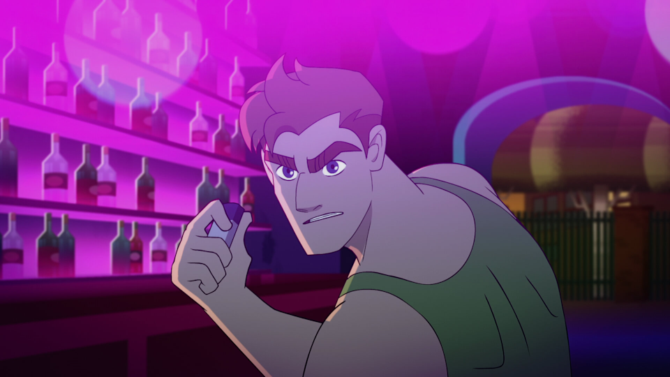 """Steve """"Mary"""" Maryweather (voiced by Sean Hayes) is the leader of Queer Force, aka Q-Force."""