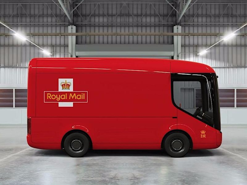 Royal Mail is trialling some super-futuristic-looking electric mail trucks