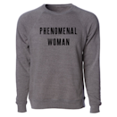 """<p><strong>Phenomenal Woman</strong></p><p>phenomenalwoman.us</p><p><strong>$59.00</strong></p><p><a href=""""https://phenomenalwoman.us/collections/adult-collection/products/phenomenal-woman-crewneck-sweatshirt"""" rel=""""nofollow noopener"""" target=""""_blank"""" data-ylk=""""slk:Shop Now"""" class=""""link rapid-noclick-resp"""">Shop Now</a></p><p>She's phenomenal — what else is there to say? All proceeds from this adorable crewneck benefit nonprofits that help women of all ages, races, and backgrounds, including Black Futures Lab and Families Belong Together. </p>"""