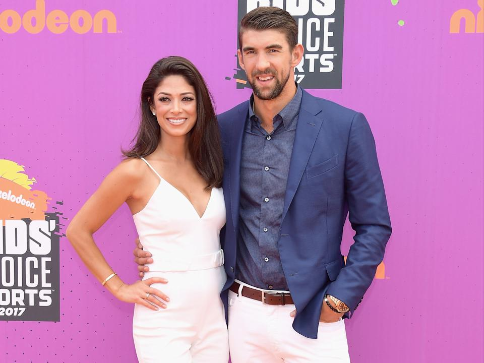Nicole Phelps opens up about fears over losing Michael Phelps to depression  (Getty Images)