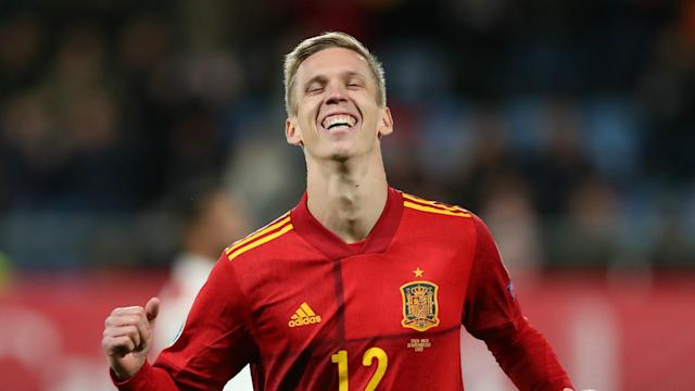 Despite never making a senior appearance for Barcelona, Dani Olmo said his time at the club's academy shaped his career.