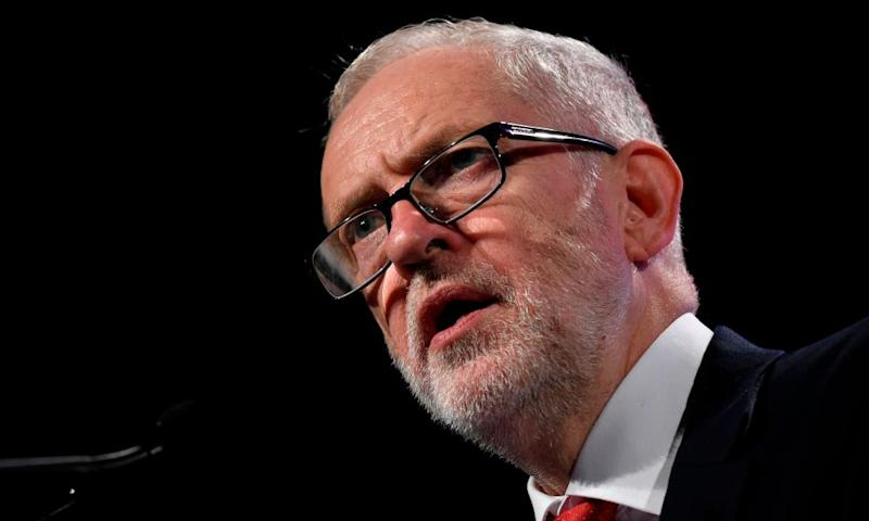 Jeremy Corbyn has been attacked for endorsing extreme leftwing positions.