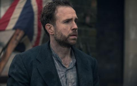 George (Rafe Spall) looked rather lost - Credit: Matt Squire/Mammoth Screen