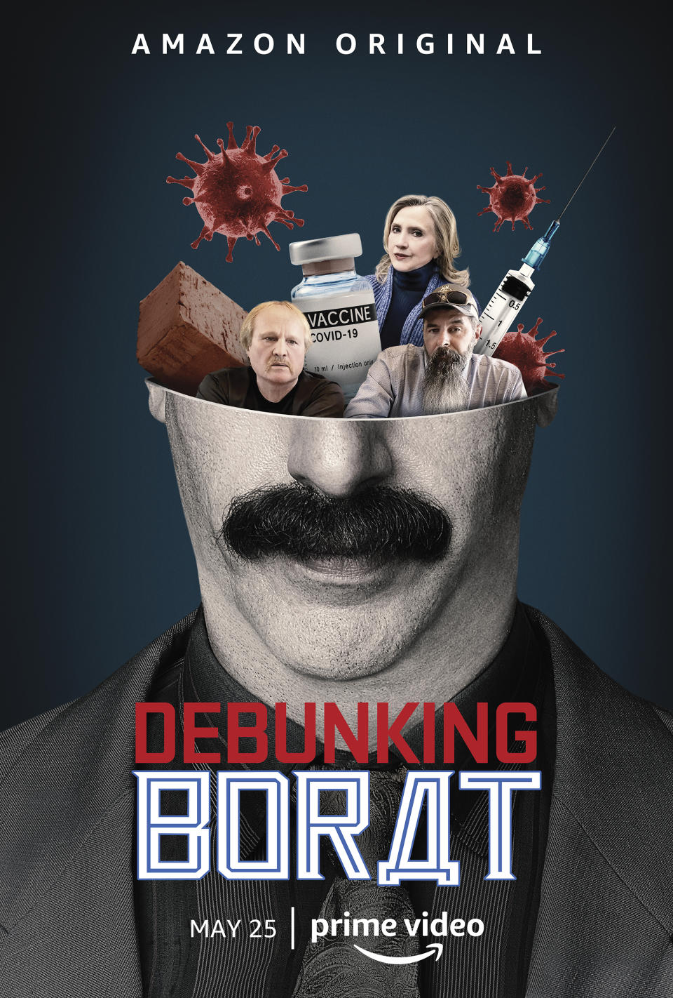 Debunking Borat (Documentary Short Specials) - In six documentary shorts, watch Borat's two roommates have their theories debunked by some of the world's leading experts. (Amazon)