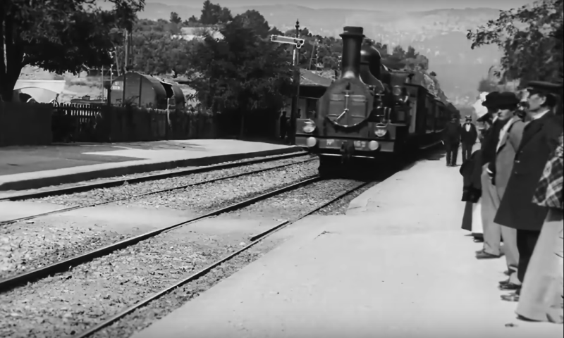 Arrival of a Train at La Ciotat (Credit: YouTube)