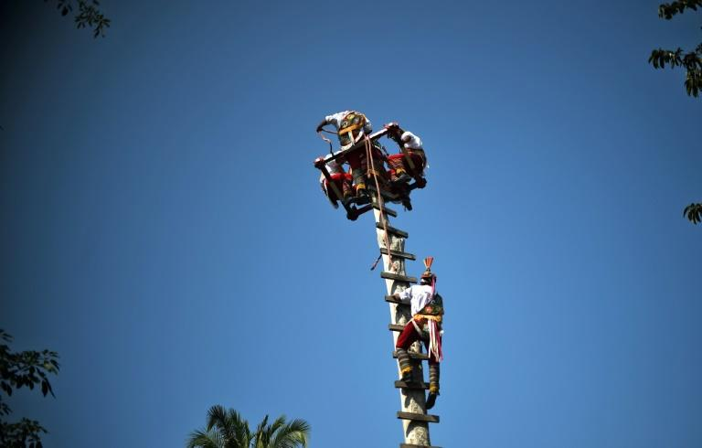 "The ""danza de los voladores,"" the dance of the flyers, is a more than 2,500-year-old ritual practiced by the Totonac people of central Mexico, who are fighting to keep the tradition alive by giving it some modern tweaks"