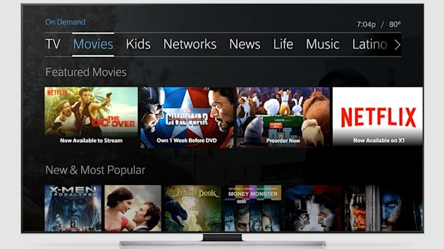 Netflix Launching On Comcast X1 Next Week Could Yield Up To 5