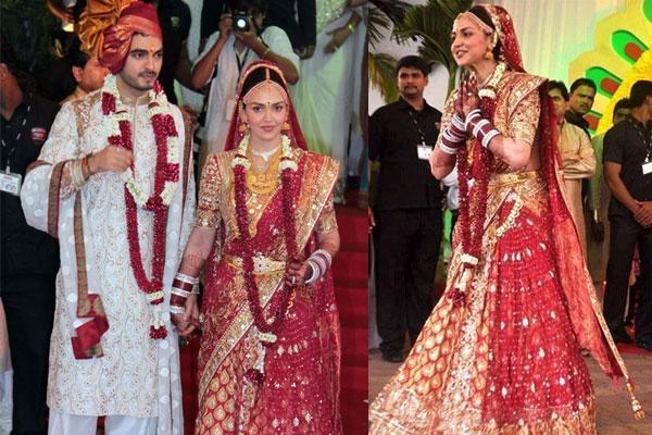 Esha Deol Expensive Wedding Outfit