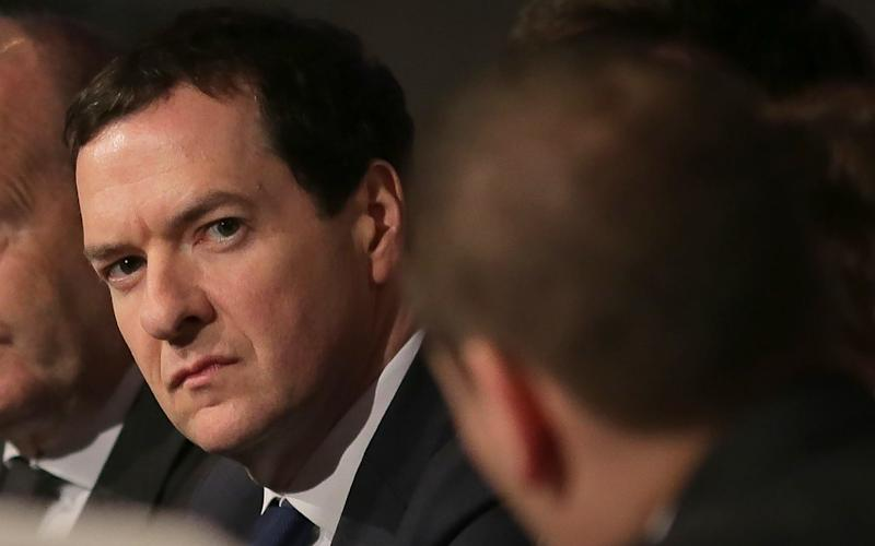 Former British Chancellor of the Exchequer George Osborne - AFP