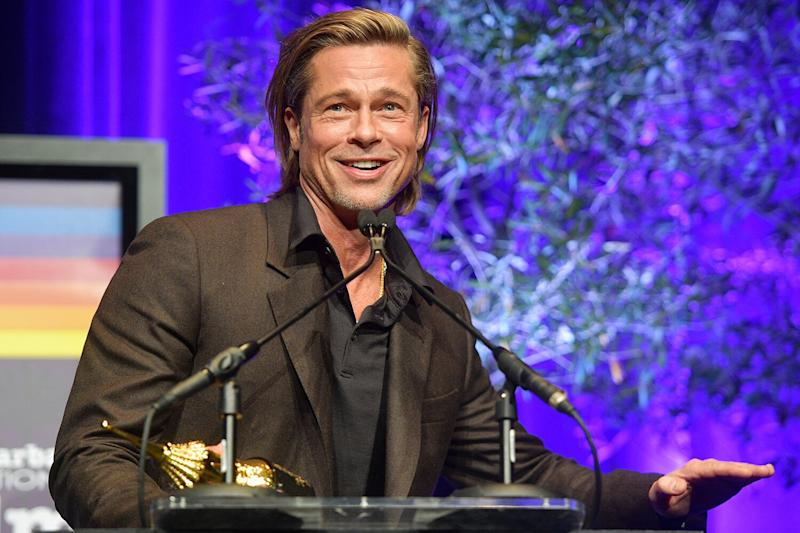 Brad Pitt Jokes About Being Single & Prince Harry as He Misses BAFTAs, Margot Robbie Reads His Speech