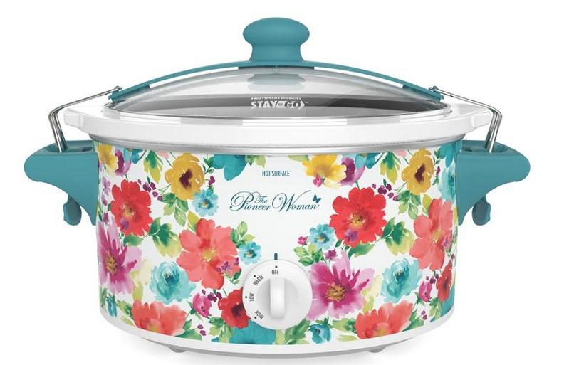 The Pioneer Woman Breezy Blossom 6 Quart Portable Slow Cooker, 33062 (Walmart / Walmart)