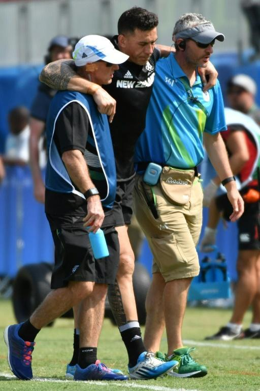 Williams ruptured an Achilles tendon in New Zealand's opening sevens game at the 2016 Rio Olympics