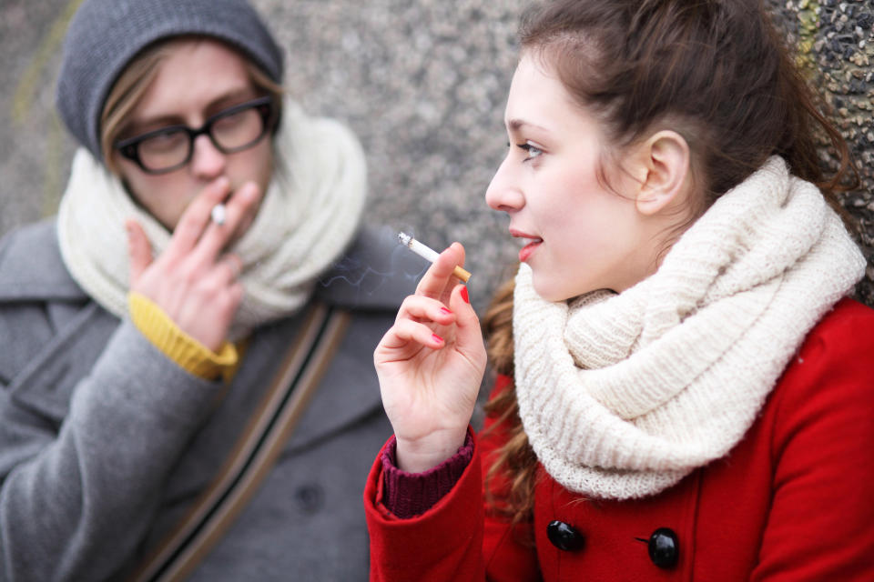 Your body can recover from some of the damage social smoking has done [Photo: Getty]