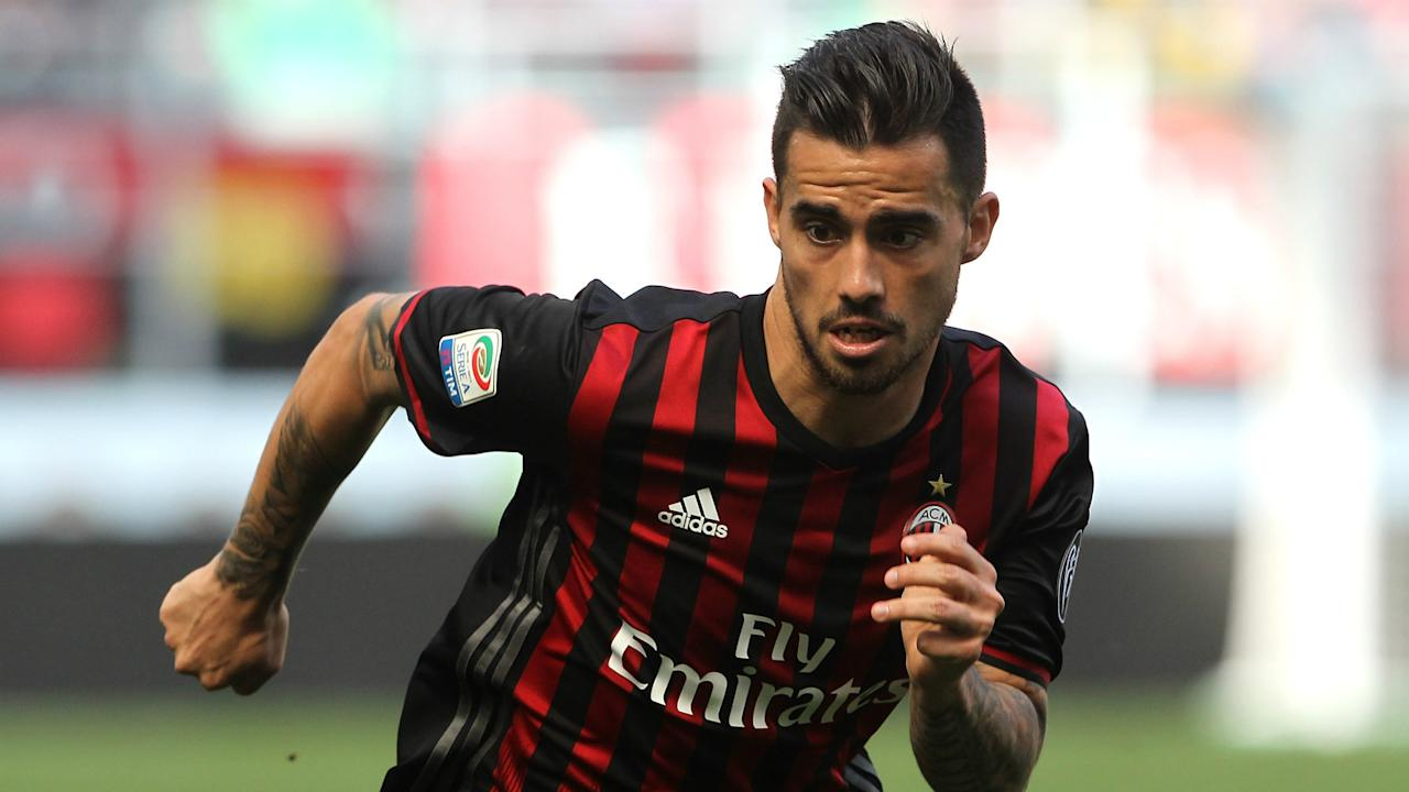 Wolfsburg director Olaf Rebbe says they are no longer pursuing a deal for AC Milan's Suso, who has also been linked with Tottenham.