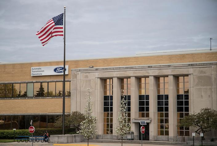 Ford Automatic Transmission plant in Livonia, Saturday, May 4, 2019.