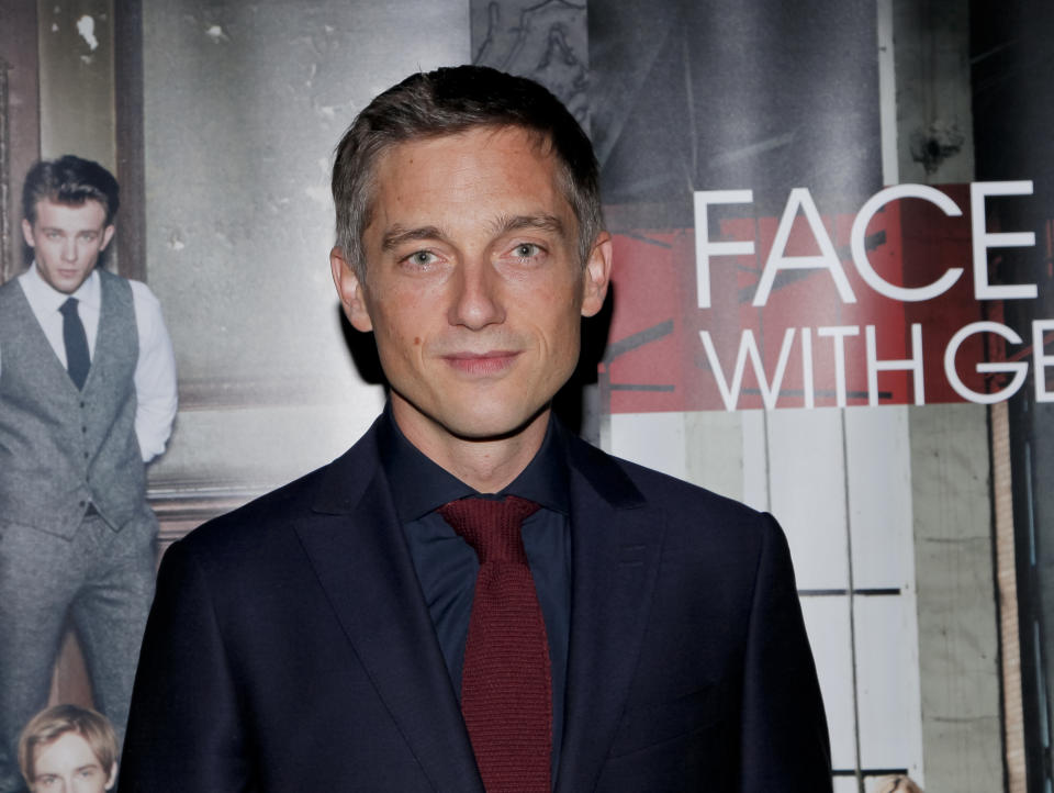 LOS ANGELES, CA - OCTOBER 06:  Volker Bruch attends the premiere of Beta Film's 'Babylon Berlin' after party on October 6, 2017 in Los Angeles, California.  (Photo by Tibrina Hobson/Getty Images)