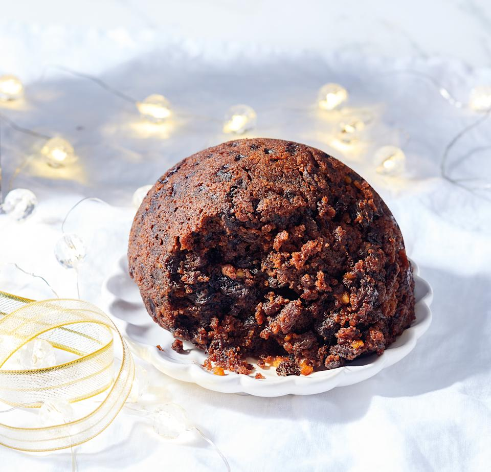 christmas pudding from Woolworths